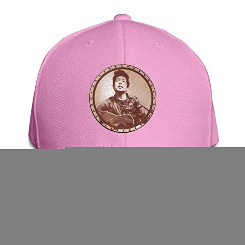 Price comparison product image Logon 8 Bob Dylan Fashion Baseball Cap Pink One Size