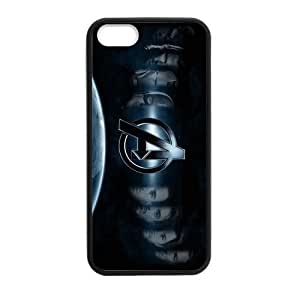 iPhone 5 Case, [The Avengers] iPhone 6 plus 5.5 Case Custom Durable Case Cover for iPhone5 TPU case(Laser Technology)