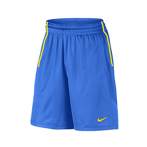 Nike 2 Pocket Dri-Fit Shorts (Medium, Game Royal/Sundown/Sundown)