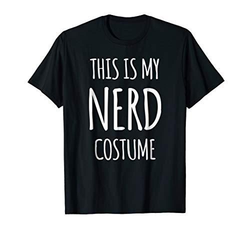 Nerd Costume Shirt Funny Geek Halloween -