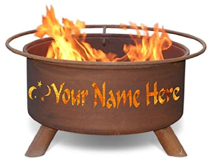 Image Unavailable. Image not available for. Color: Personalized Fire Pit ... - Amazon.com : Personalized Fire Pit & Grill : Garden & Outdoor