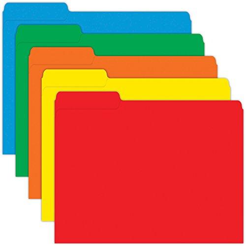 file folders colored - 9