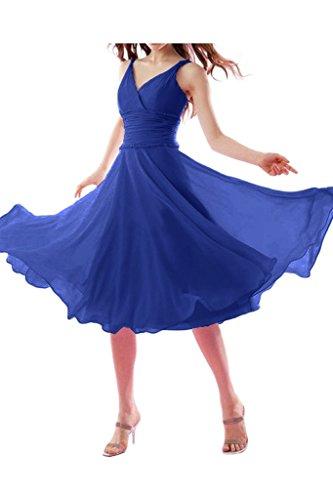 Abendkleid lang blau schulterfrei