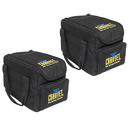 2 CHAUVET CHS-SP4 Transport Cases - SlimPar 56 & 38 Lights Obey 3 Controller Bag