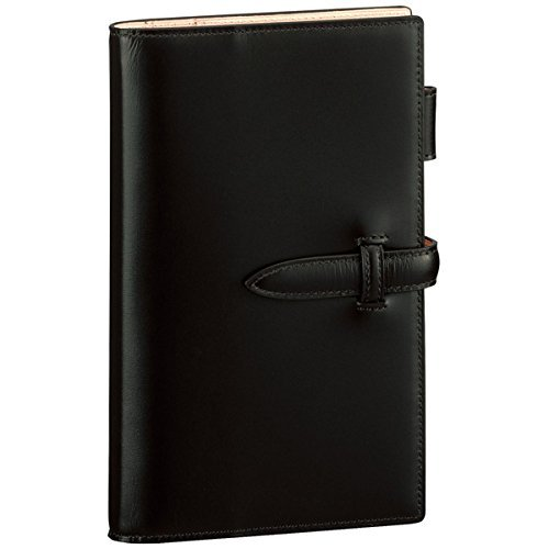 レイメイ藤井 ダヴィンチ ぺリンガーカーフ システム手帳 聖書サイズ ブラック DB3018B 【まとめ買い3冊セット】   B071S1CNYR
