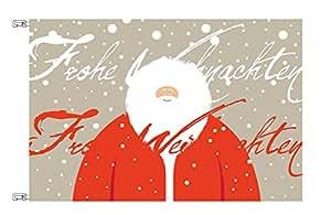 FahnenMax–Bandera de Navidad diseño Santa