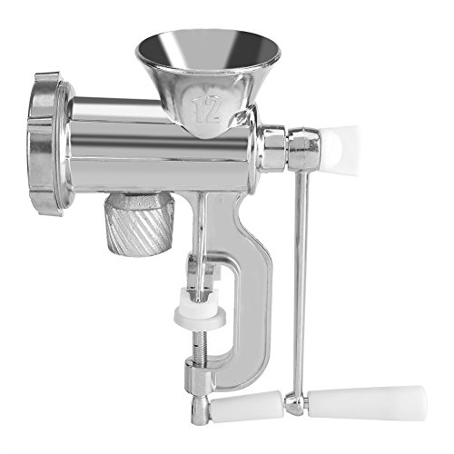 Meat Grinder Manual Multiple Function Chopper Mincer Sausage Maker Home Kitchen Tool by Fdit