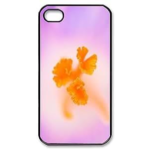 For Apple Iphone 5/5S Case Cover crocus stamens Unique For Guys, For Apple Iphone 5/5S Case Cover Case Stevebrown5v, [Black]