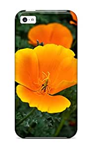 tina gage eunice's Shop Discount 6489503K58222125 High-quality Durability Case For Iphone 5c(orange Flowers)