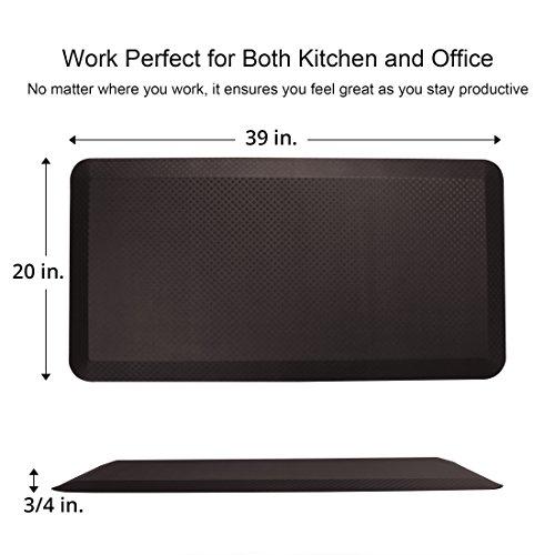 Flexispot Standing Desk Mat 20 In X 39 In Non Slip Comfort