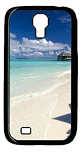 Samsung Galaxy S4 Case and Cover -Summer Vacation PC case Cover for Samsung Galaxy S4 SIV I9500-Black