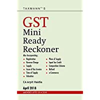 GST Mini Ready Reckoner (Amended upto 20-4-2018)