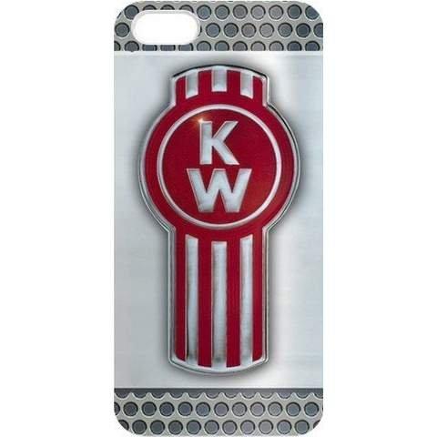 @ALLCASE iPhone 6 and 6S Plus (5.5inch) Case ,Vintage Design Kenworth Truck Logo Best Rubber Protective Case for iPhone 6 and 6S Plus (5.5inch) - White