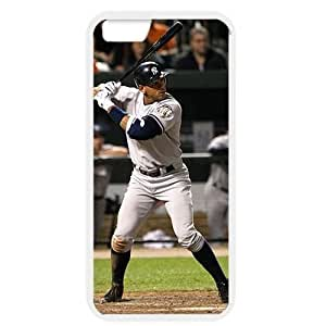 MLB iPhone 6 White New York Yankees cell phone cases&Gift Holiday&Christmas Gifts NBGH6C9125097