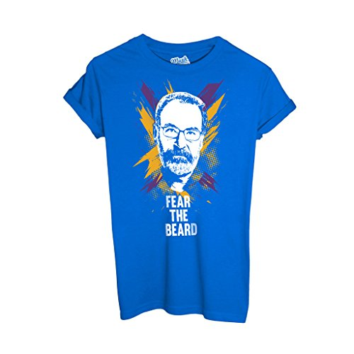 T-Shirt Saul Homeland Versione Nba Fear The Beard - FILM by Mush Dress Your Style
