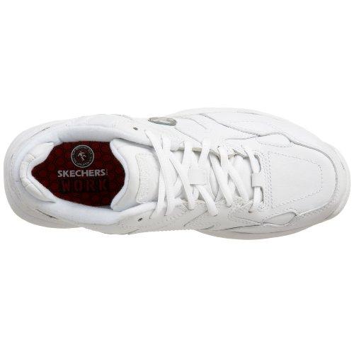 Per Donna White Skechers Scarpe Lacci 4wqYfY