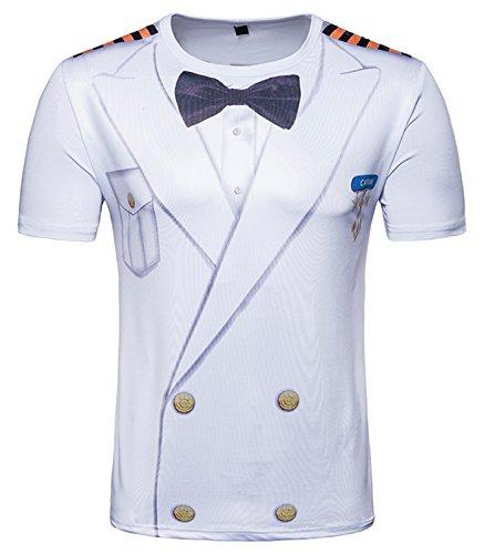 Belle Manche Whatlees Tee Luxury Design Courte Ba0043 shirt shirt À T 1 Impression Homme Coloré 37 En Ba0043 wCRqCU0