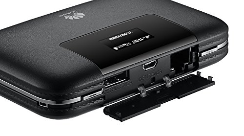 Huawei E5770s-320 150 Mbps 4G LTE Mobile WiFi Hotspot(4G LTE in Europe, Asia, Middle East, Africa & 3G globally, 20 hour) (Black) by Huawei (Image #5)