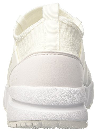 Diadora Unisex Adults' Evo Aeon Sneaker Low Neck Off White (Bianco) 8p4rruwG