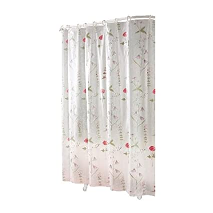 Ex Cell Home Fashions By Appointment Poppies EVA Shower Curtain