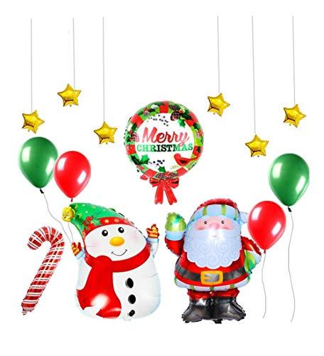 It Christmas Merr Christmas.Amazon Com Haiyao Year Christmas Balloon Christmas Letter
