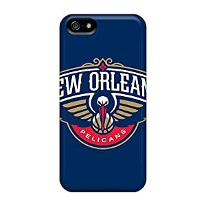 First-class Cases Covers For Iphone 5/5s Dual Protection Covers New Orleans Pelicans