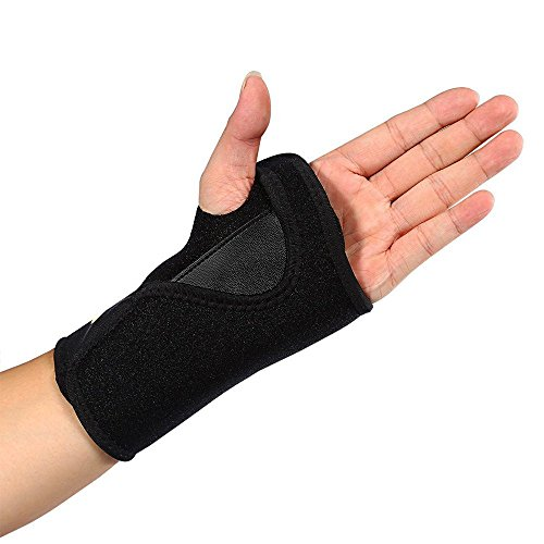 Highfive Wrist Support Brace with Removable Steel Plate Adjustable Hand Wrist Wrap for Carpal Tunnel/Tendonitis/Arthritis Pain/Wrist Pain