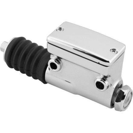 (96-03 HARLEY XL1200C: Biker's Choice Rear Master Cylinder (Chrome))