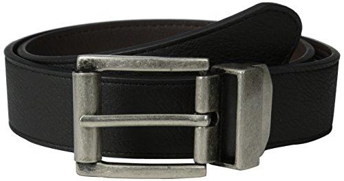 Bill Belt (Bill Adler Belts Men's Basic Reversible Belt, Black/Brown,)