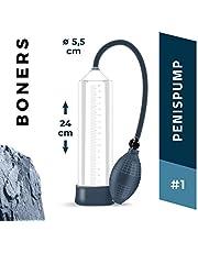 Boners Pompe à Pénis Nr. 1 Boners Agrandisseur de Pénis Transparent