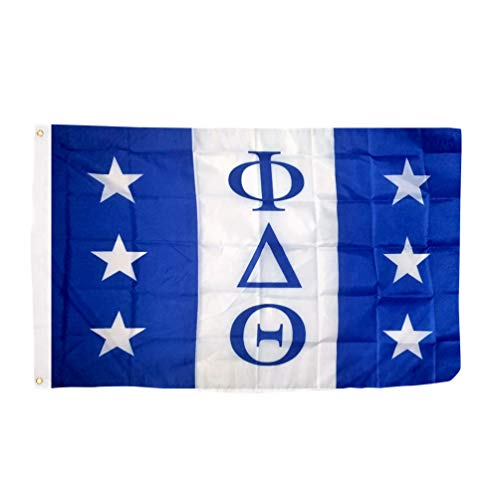 Phi Delta Theta Chapter Fraternity Flag 3 x 5 Polyester Use as a Banner Sign Decor Phi Delt ()