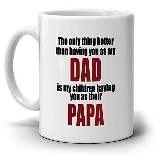 Inspirational Papa Papá cumpleaños y día del padre regalos ...