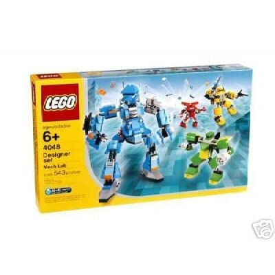 Lego Mech Lab Designer Set # 4048 543 Pieces: Toys & Games