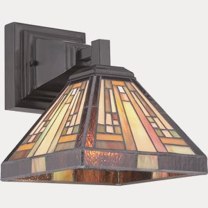 (Quoizel TFST8701VB One Light Wall Sconces Small Vintage)