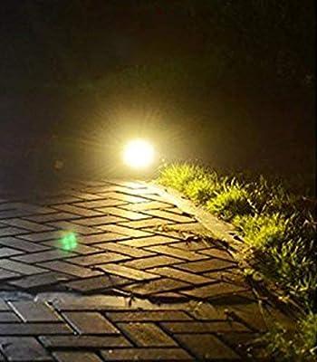 W-LITE Outdoor LED Landscape Solar Spot Lights Waterproof Solar Spotlight for Backyard Driveway Patio Gardens Lawn,Dusk to Dawn Auto On of