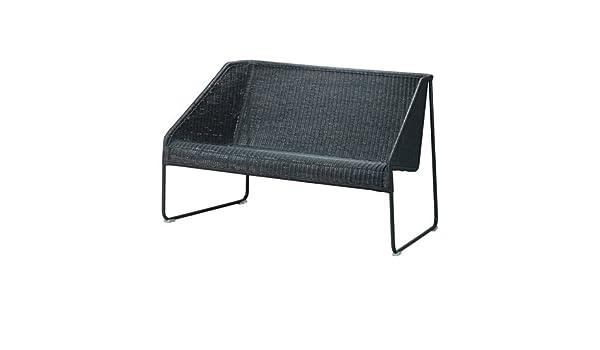 Amazon.com: IKEA Lightweight Sofa, Black 2028.8514.146 ...