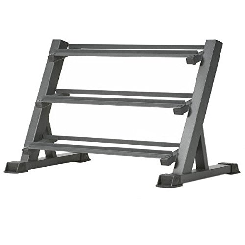 "AmStaff TR007 3-Tier Commercial Dumbbell Rack Feature 60"" Amstaff Fitness"