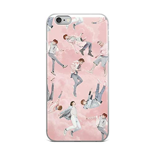 iPhone 6 Plus/6s Plus Pure Clear Case Cases Cover GOT7 - Fly Album Pastel Members