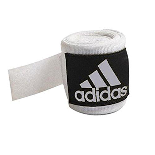 - 2.55m White Adidas Boxing Hand Wraps