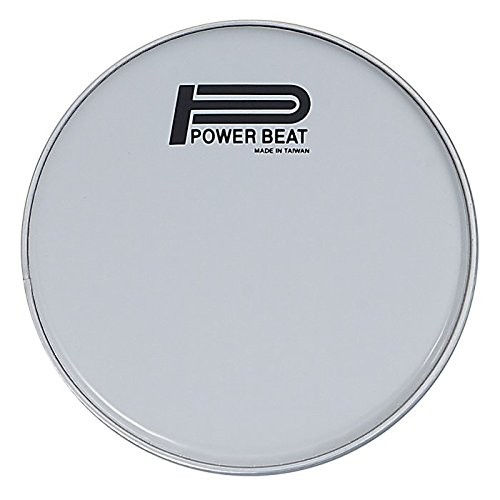 8.75'' - Power Beat Drum Head 0.188MM For Arabic Musical Instrument Thinner Collar /0.2'' (5MM) - For Darbuka/Doumbek (White) by Power Beat