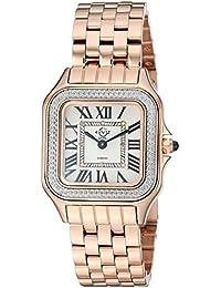 Women's Milan Swiss Quartz Watch Tone Strap, Rose Gold, 16 (Model: 12101B)