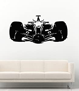 Amazoncom Cool Car Sport Race Formula Man Cave Garage Home - Wall decals carscars wall decals add photo gallery car wall decals home design ideas