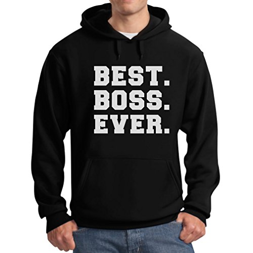 TeeStars - Best BOSS Ever Idea for Your Boss Hoodie XX-Large Black