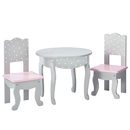 Olivias meuble table 2 chaises jouer poupée poupon jeux d'imitation TD-0208AG