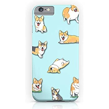 Amazon.com: Little Corgi iPhone 6s Plus 6 Plus Case Clear ...