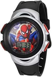 Marvel Kids' SPM038T Spiderman gift tin set Watch