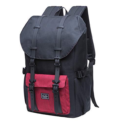 KAUKKO Laptop Outdoor Backpack, Traveling Rucksack Fits 15.6 Inch Laptop