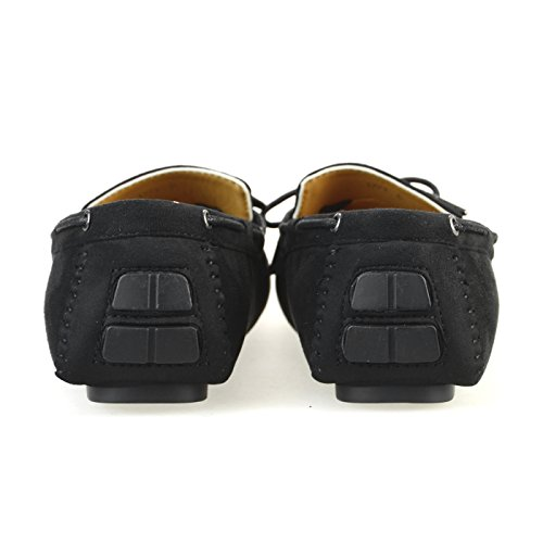 Mocassino Driving Toe Mocassino, Blacksuede, S (us Mens 7-7,5 M)