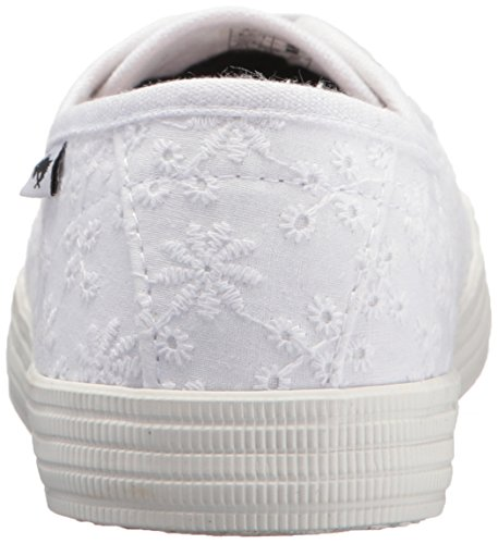 Rocket Dog Women's Chowchow Lucky Eyelet Cotton Sneaker, White, 9.5 Medium US by Rocket Dog (Image #2)