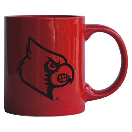 - Boelter Brands NCAA Louisville Cardinals Sculpted Rally Mug, 11-Ounce